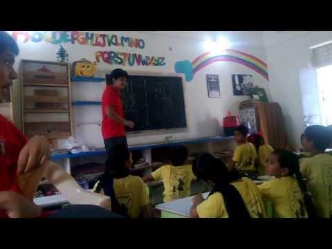 Teaching Underprivileged Children