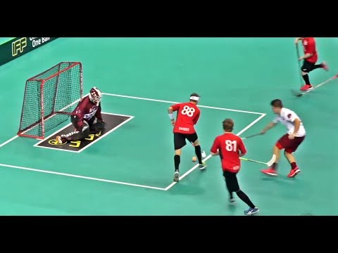 Representing TEAM CANADA at the World Floorball Championships