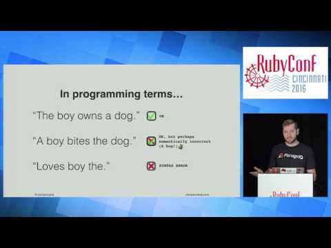 RubyConf 2016 - Deletion Driven Development: Code to delete code! by Chris Arcand