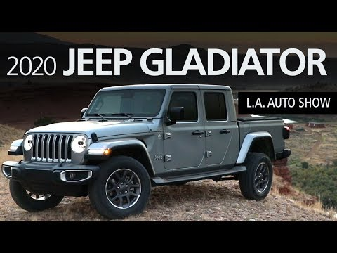 2020 Jeep Gladiator 4x4 Pickup Walkaround