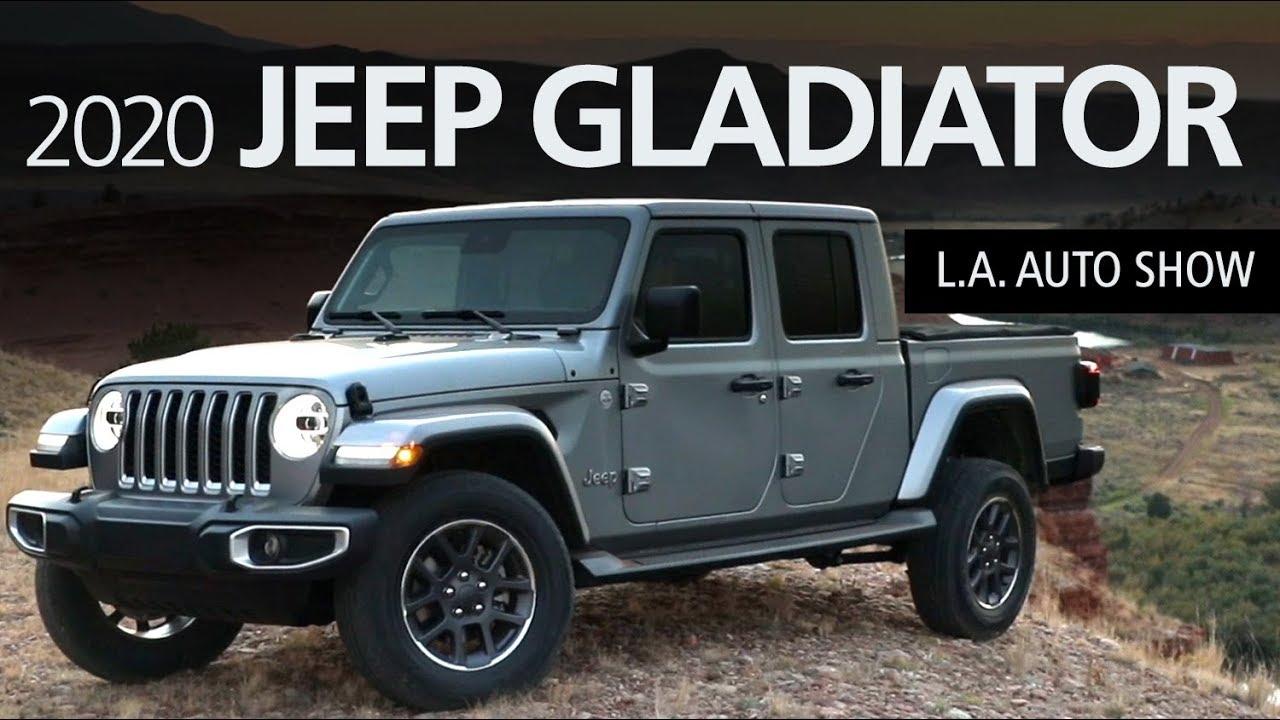 2020 Jeep Gladiator Pickup 4wd