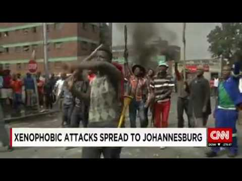 Xenophobic attacks on foreigners in South Africa