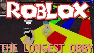 Hailey and Dad Play - The Longest Obby In Roblox!