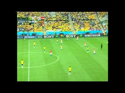 World Cup 2014 | Marcelo Own Goal | Croatia 1-0 Brazil