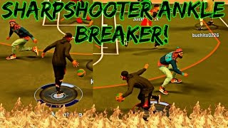Ankle breaker with a sharpshooter! crazy sharpshooter with elite crossover moves! - nba 2k17 mypark