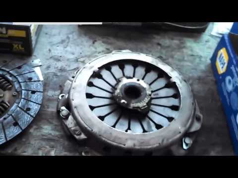 Clutch replacement Hyundai Elantra Sonata Santa Fe 1996 - 2006 Install Remove Replace