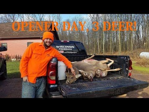 Wisconsin Gun Deer Opener Day 2017