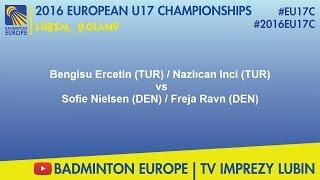 #2016EU17C Lubin-SF wd - Bengisu Ercetin & Nazlıcan Inci VS Sofie Nielsen & Freja Ravn