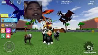 Yoi roblox Warrior simulator nya...