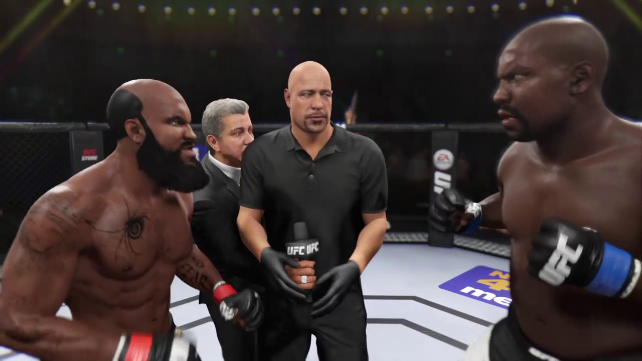 EA SPORTS™ UFC® 2 Kimbo Slice vs Bob Sapp! - YouTube