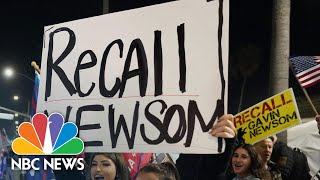 Calif. Gov. Newsom Apologizes For Breaking Own Covid Guidance | NBC News NOW