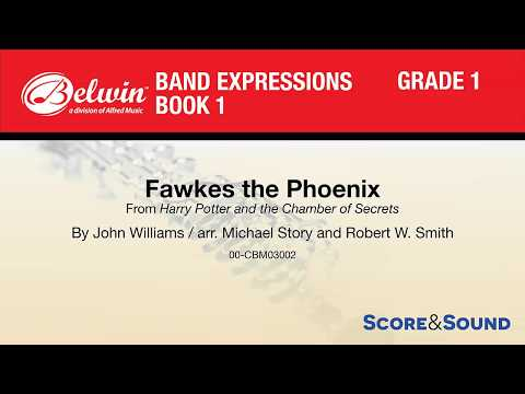 Fawkes the Phoenix, arr. Michael Story and Robert W. Smith – Score & Sound