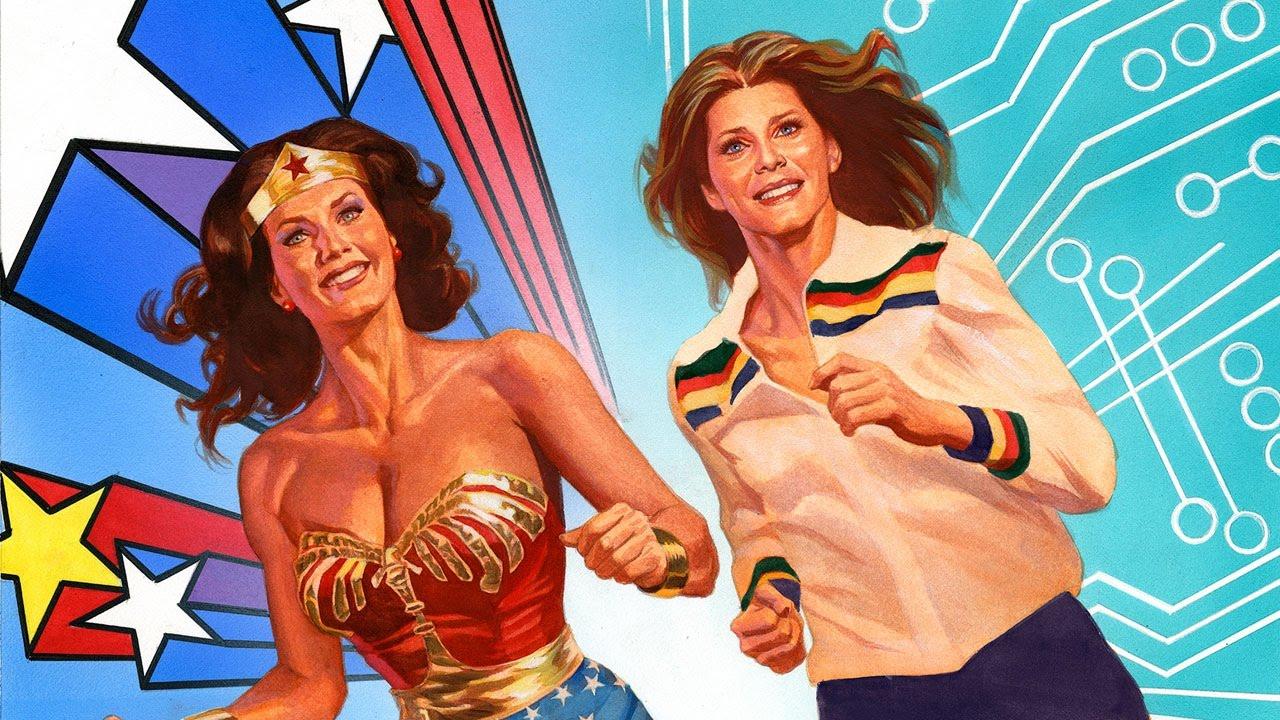Resultado de imagen para wonder woman and bionic woman