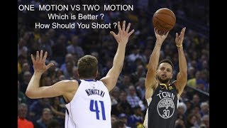 ONE  MOTION VS TWO  MOTION  Which is Better ? How Should You Shoot ?