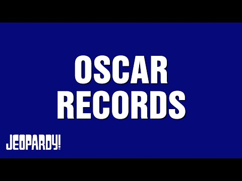 Oscar Records | JEOPARDY!