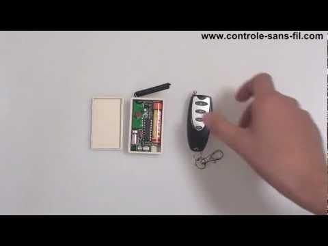 comment utiliser un mini metteur r cepteur vibrant radio pour r aliser la fonction rappel. Black Bedroom Furniture Sets. Home Design Ideas