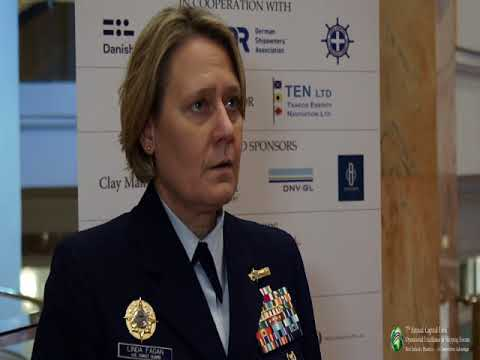2017 7th Annual Operational Excellence in Shipping - RADM Linda Fagan Interview