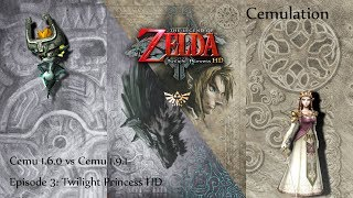 Cemu 1.6.0 vs Cemu 1.9.1 Cemulation Episode 3: Twilight Princess HD