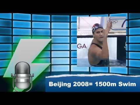 Rio 2016 Countdown: Beijing 200 1500m Swimming Commentary