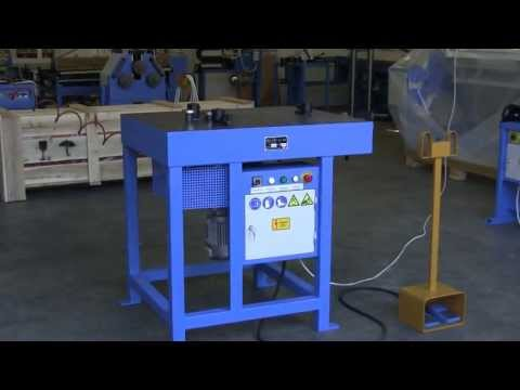 "Függőleges Peremező / Vertical Beader / Vertical ring cutting / Customised machine ""FZ"""