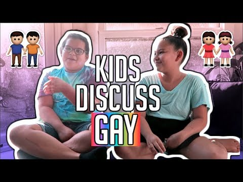 ASKING MY LITTLE SISTERS ABOUT BEING GAY