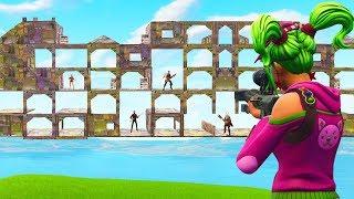 Snipers VS Runners in Fortnite Battle Royale!