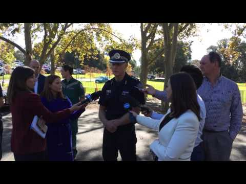 Emergency Response Exercise at Adelaide Oval