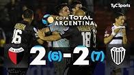Colón 2 (6) VS. Estudiantes (BA) 2 (7) | 4tos de Final | Copa Argentina 2019