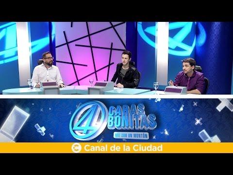 """<h3 class=""""list-group-item-title"""">Noticias, humor y Gervasio Díaz Castelli - 4 Caras Bonitas</h3>"""