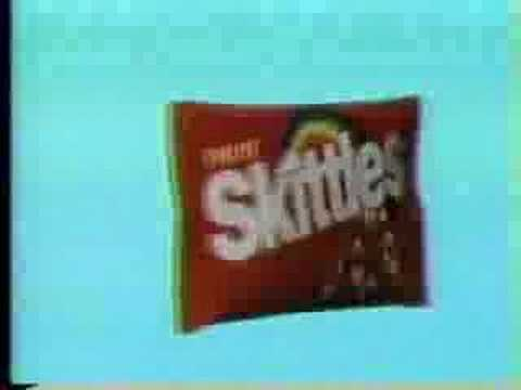 Skittles: taste the rainbow. is listed (or ranked) 22 on the list The Most Memorable Ad Slogans of All Time