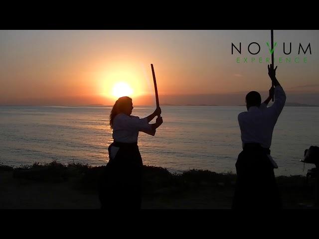 03 Ken tai jo san - Aikido Novum Experience -合氣道 -武器技 -剣体杖三