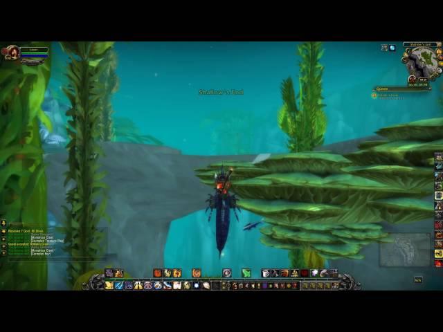 Kliklaks Craw Quest ID 25467 Playthrough Vashjir