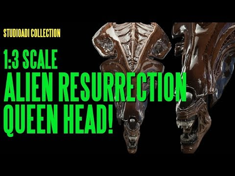 The studioADI Collection - Alien Resurrection Queen 1:3 Scale Head