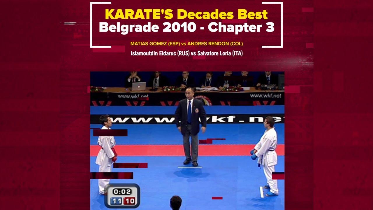 KARATE Decades Best   Unexpected results – Belgrade 2010
