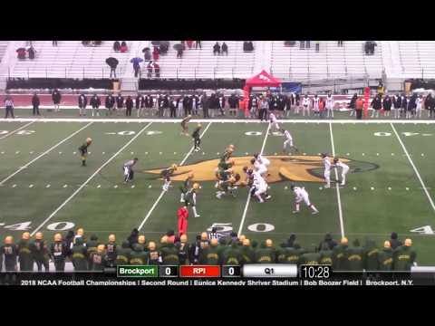 Football at Brockport Highlights (NCAA Tournament)