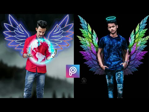 Neon Wings Photo Editing // Neon Wings Editing // Neon Wings Editing Like Prakash Photo Editing