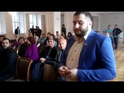 День независимости Арцаха в армянской общине Санкт-Петербурга (начало)