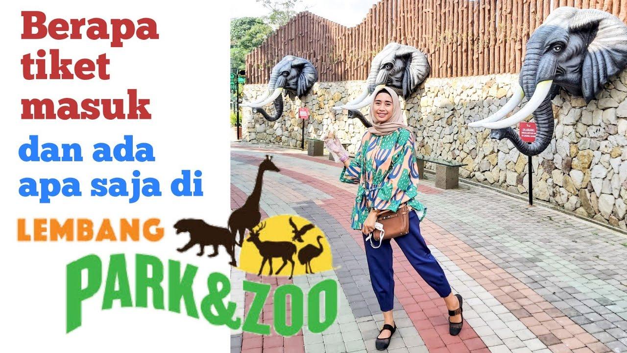Lembang Park & Zoo | Berapa harga tiket masuk? | Ada apa saja?