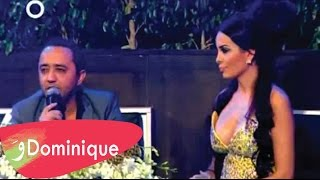 Dominique & Ali ElDik in OTV Lebanon NYE 2013 Party