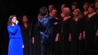 Katie Melua & Gori Women's Choir - The little swallow (Shchedryk), 14.11.2016, Toruń, Poland