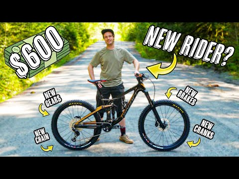 Made This Mountain Bike Feel Brand New For Under $600