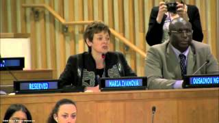 Maria Ivanova at Second Meeting of High Level Political Forum on Sustainable Development - Part 1