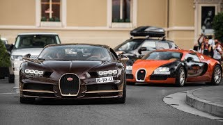 Supercars of Monaco 2018 - CHIRON AGERA RS and more !