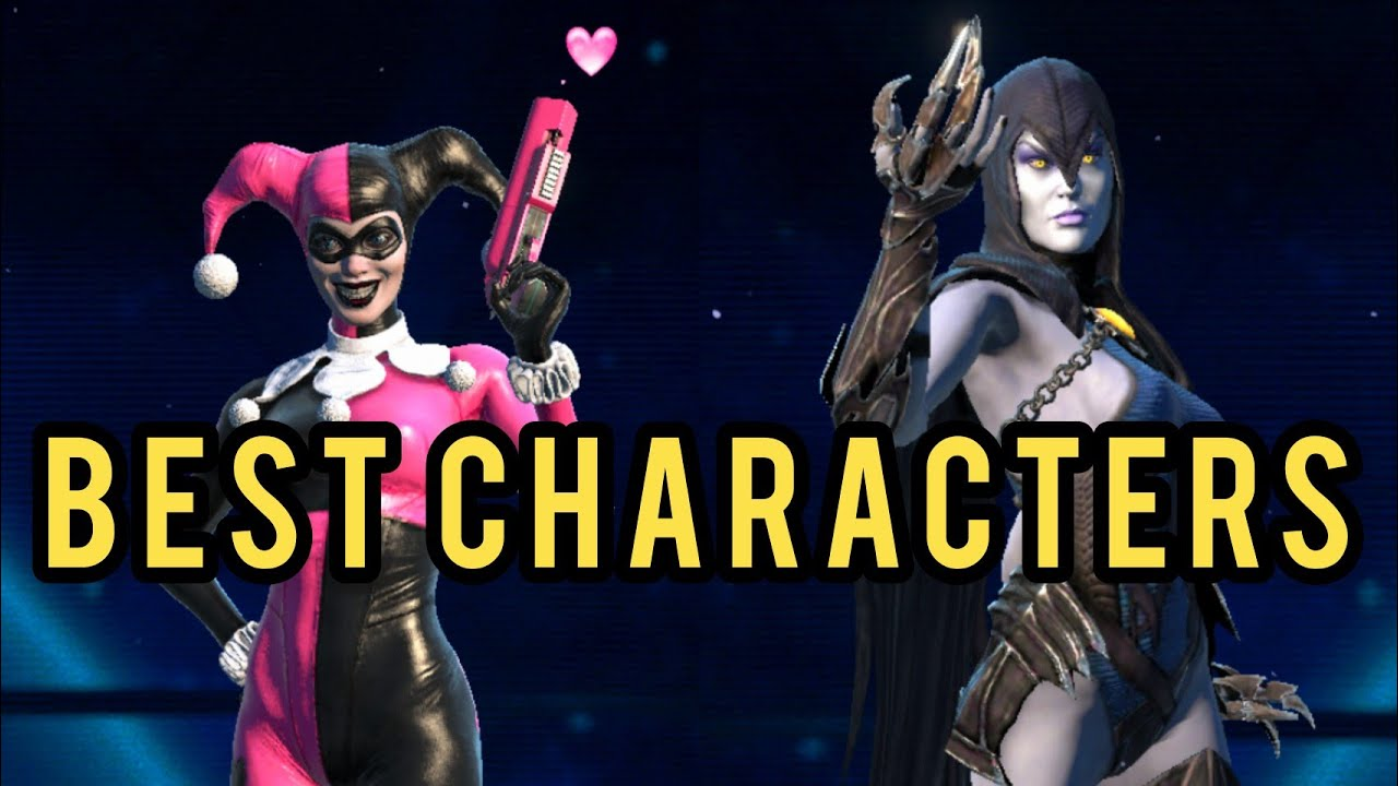 Top 5 Best FEMALE Characters!!! - Injustice 2 Mobile
