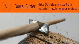 How to Make: an Easy Dowel Cutter in less than 1 hr!
