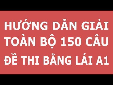 Mẹo thi bằng lái xe A1 giải toàn bộ 150 câu lý thuyết - thibanglaixehn.com