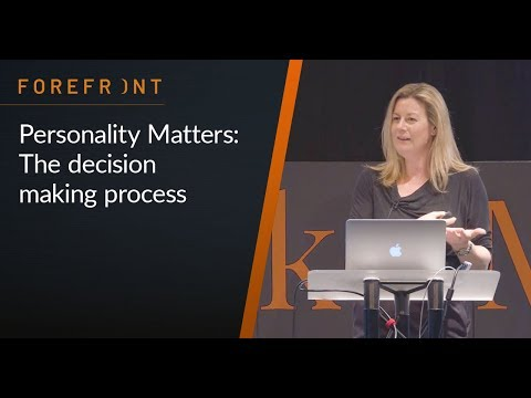 Personality Matters 3 Decision Making