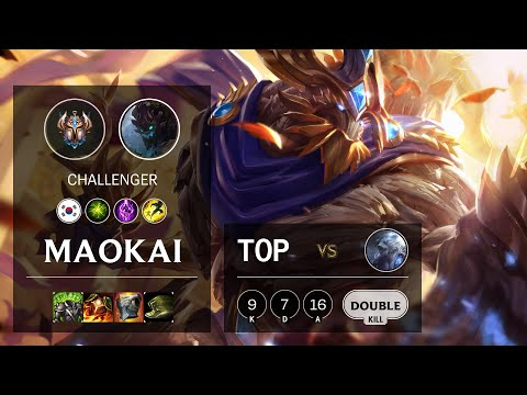 Maokai Top vs Volibear - KR Challenger Patch 10.14