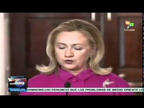 Clinton to keep pressing for regime change in Syria
