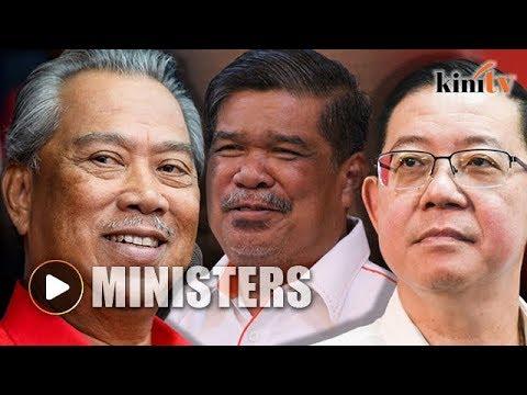 Ministers: Guan Eng finance, Mat Sabu defense, and Muhyiddin home affairs